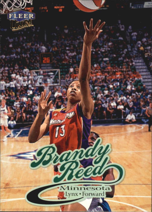 1999 Ultra WNBA #9 Brandy Reed RC
