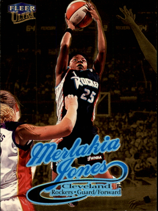 1999 Ultra WNBA #13 Merlakia Jones