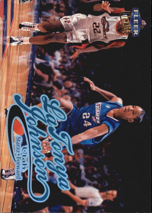 1999 Ultra WNBA #18 LaTonya Johnson RC