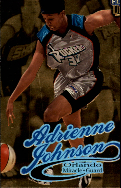 1999 Ultra WNBA #45 Adrienne Johnson RC