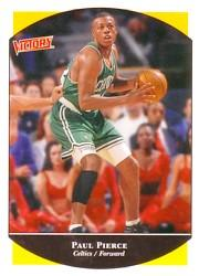 1999-00 Upper Deck Victory #17 Paul Pierce