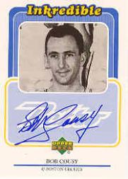1999-00 Upper Deck Retro Inkredible #BC Bob Cousy
