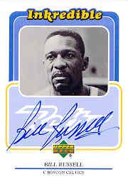 1999-00 Upper Deck Retro Inkredible #BR Bill Russell