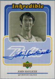1999-00 Upper Deck Retro Inkredible #JH John Havlicek