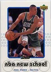 1999-00 Upper Deck Retro Old School/New School #S23 Paul Pierce