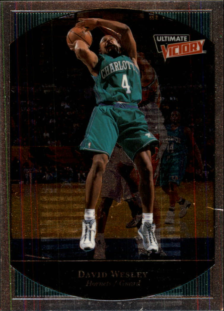 1999-00 Ultimate Victory #9 David Wesley