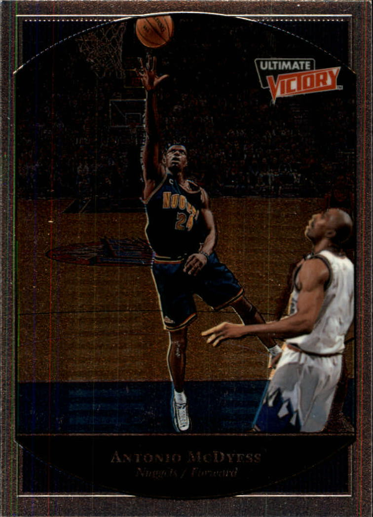 1999-00 Ultimate Victory #19 Antonio McDyess