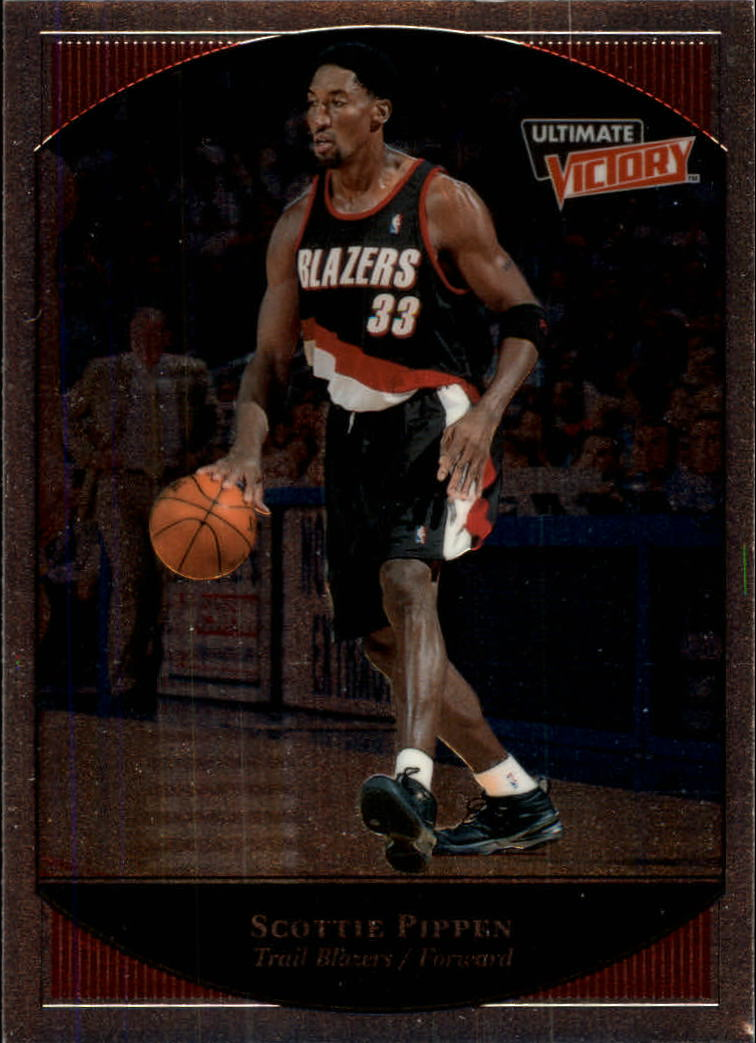 1999-00 Ultimate Victory #66 Scottie Pippen