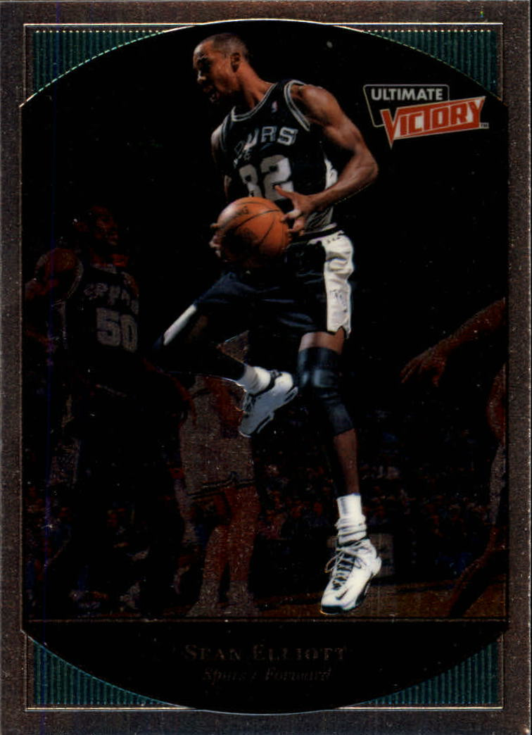 1999-00 Ultimate Victory #73 Sean Elliott