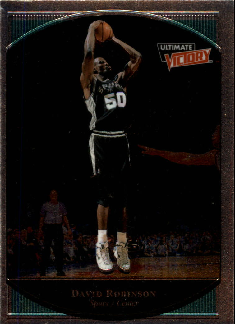 1999-00 Ultimate Victory #74 David Robinson