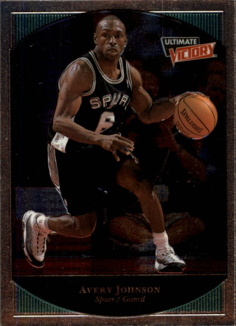 1999-00 Ultimate Victory #75 Avery Johnson