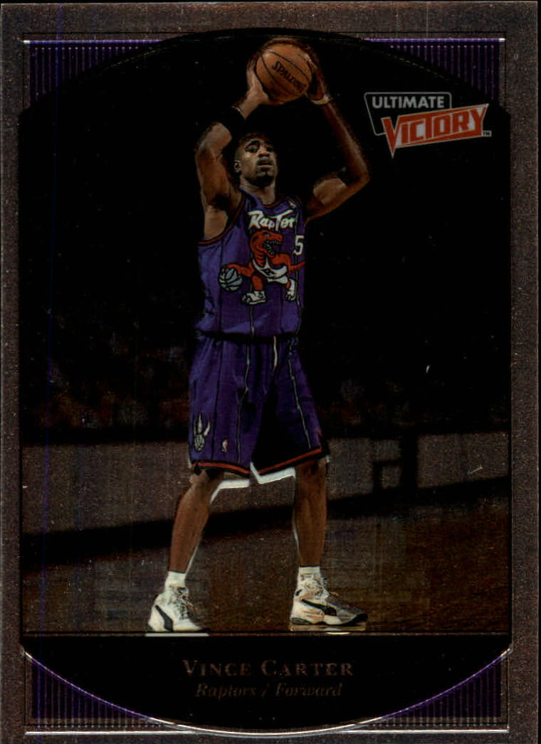 1999-00 Ultimate Victory #79 Vince Carter