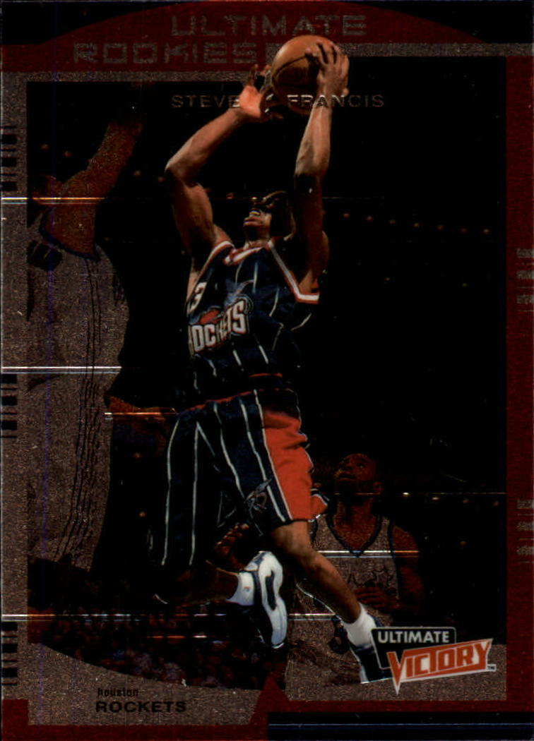 1999-00 Ultimate Victory #122 Steve Francis RC