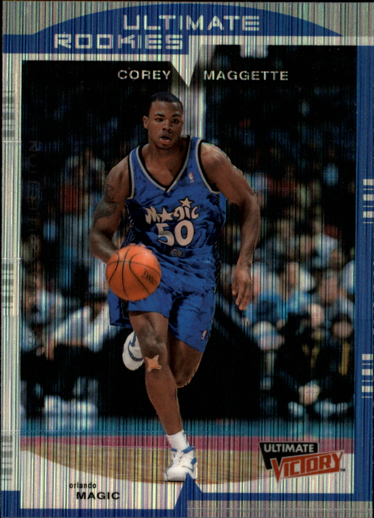 1999-00 Ultimate Victory Victory Collection #133 Corey Maggette