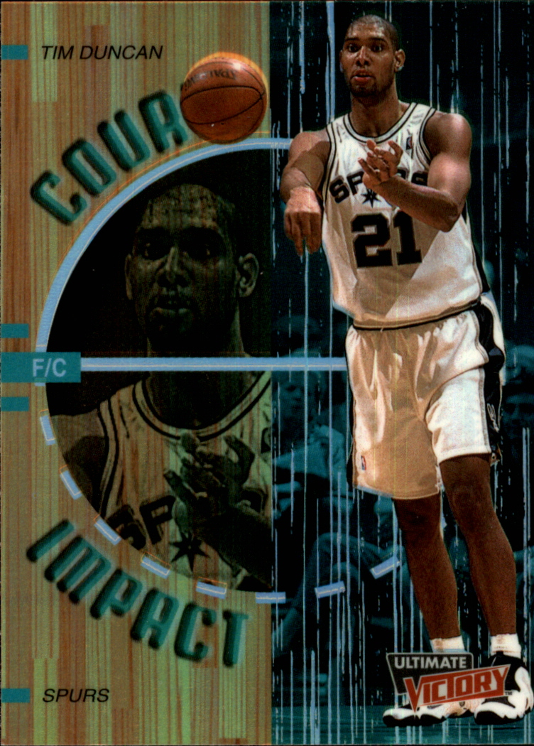1999-00 Ultimate Victory Court Impact #C5 Tim Duncan