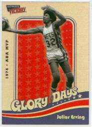 1999-00 Ultimate Victory Dr. J Glory Days #DR2 Julius Erving