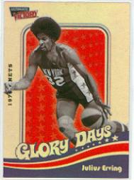 1999-00 Ultimate Victory Dr. J Glory Days #DR5 Julius Erving