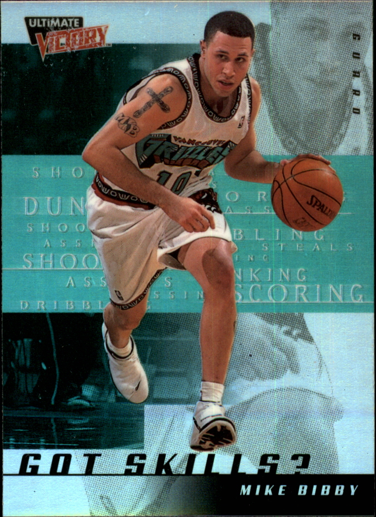 1999-00 Ultimate Victory Got Skills? #GS3 Mike Bibby