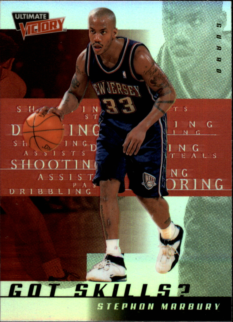 1999-00 Ultimate Victory Got Skills? #GS4 Stephon Marbury