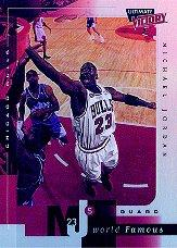 1999-00 Ultimate Victory MJ's World Famous #MJ2 Michael Jordan