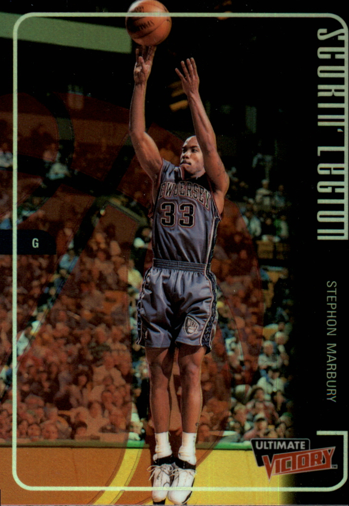 1999-00 Ultimate Victory Scorin' Legion #SL3 Stephon Marbury