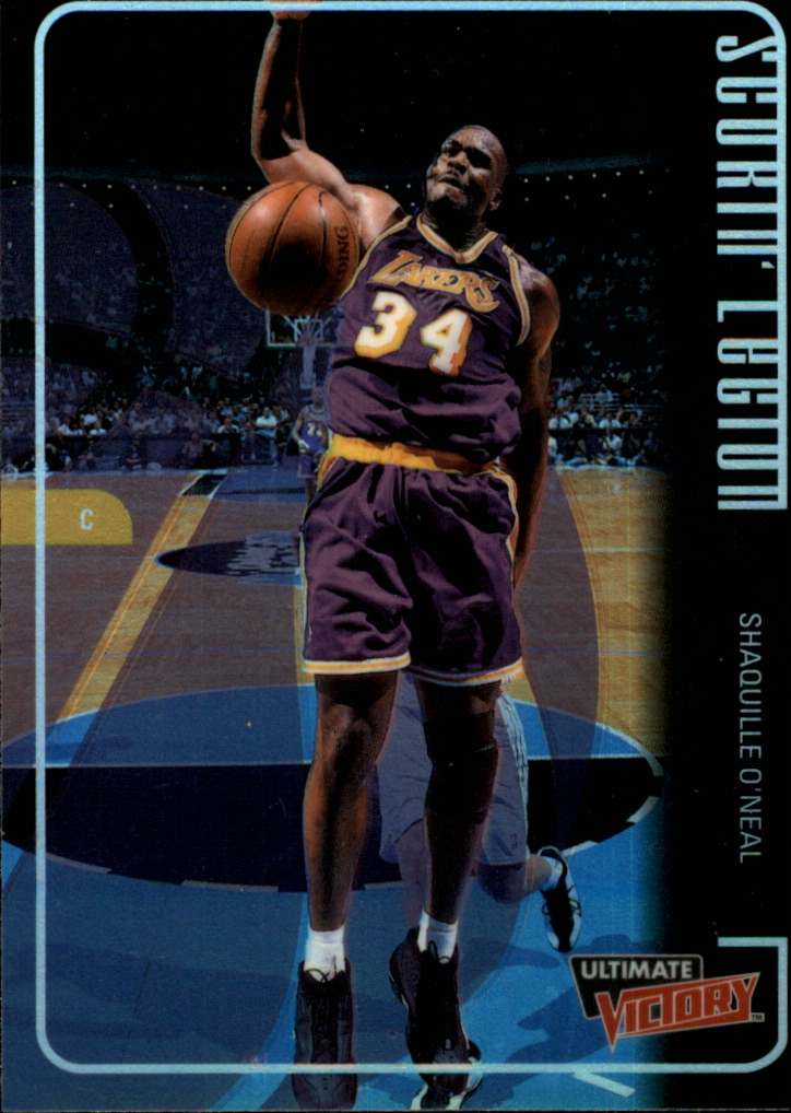 1999-00 Ultimate Victory Scorin' Legion #SL4 Shaquille O'Neal