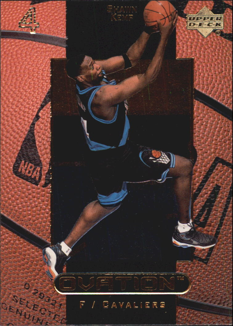 1999-00 Upper Deck Ovation #9 Shawn Kemp