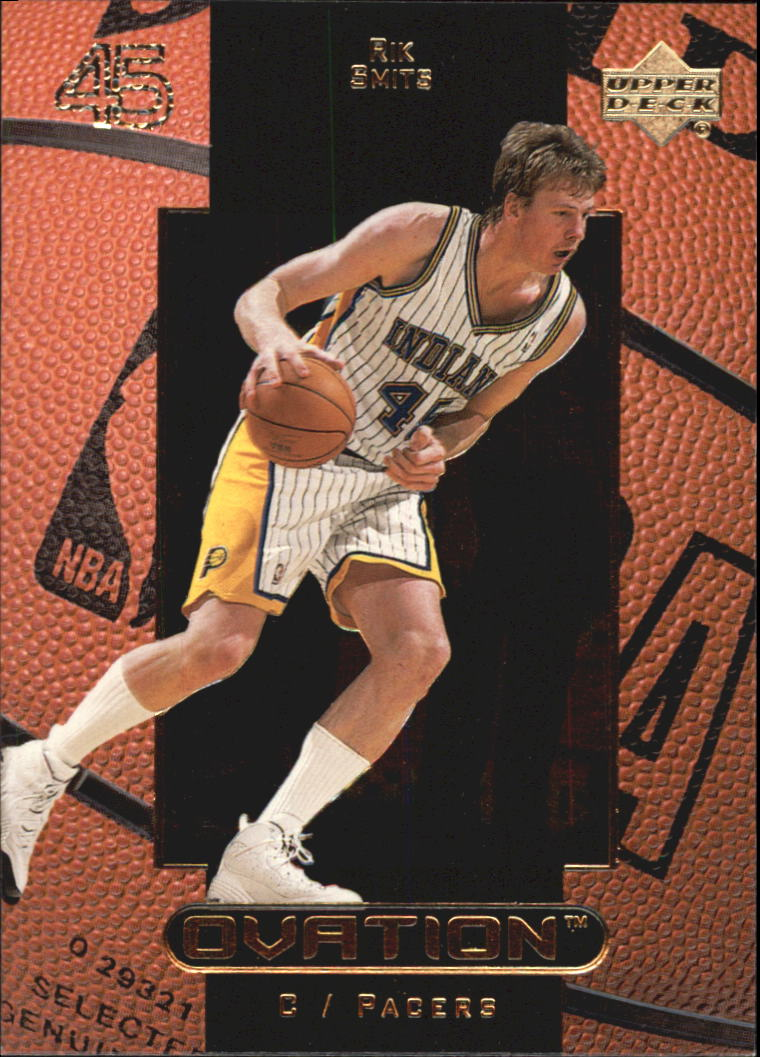 1999-00 Upper Deck Ovation #23 Rik Smits