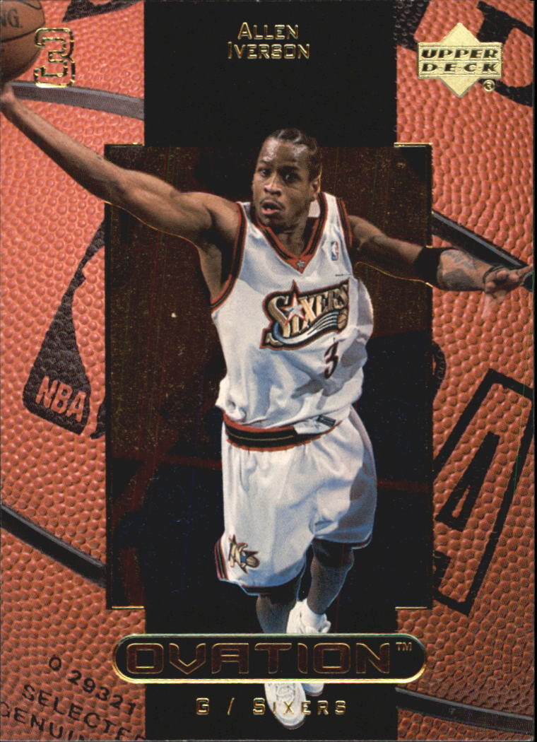 1999-00 Upper Deck Ovation #40 Allen Iverson