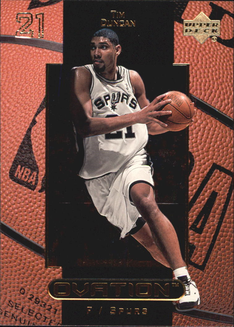 1999-00 Upper Deck Ovation #48 Tim Duncan