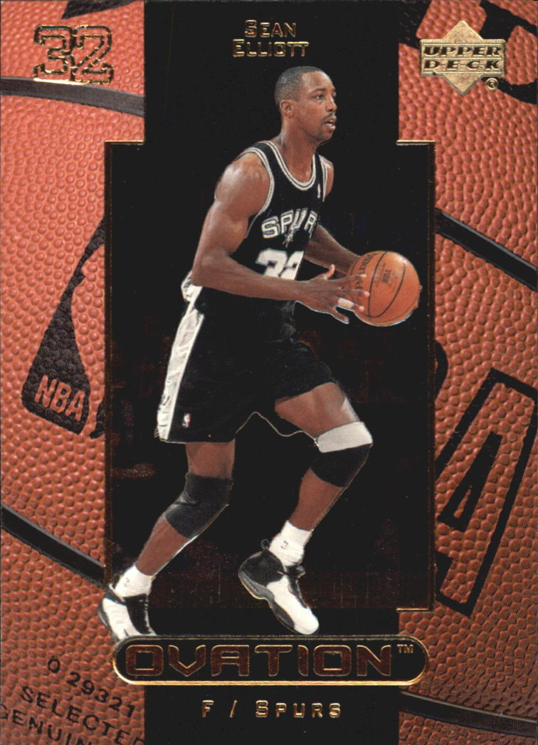 1999-00 Upper Deck Ovation #50 Sean Elliott