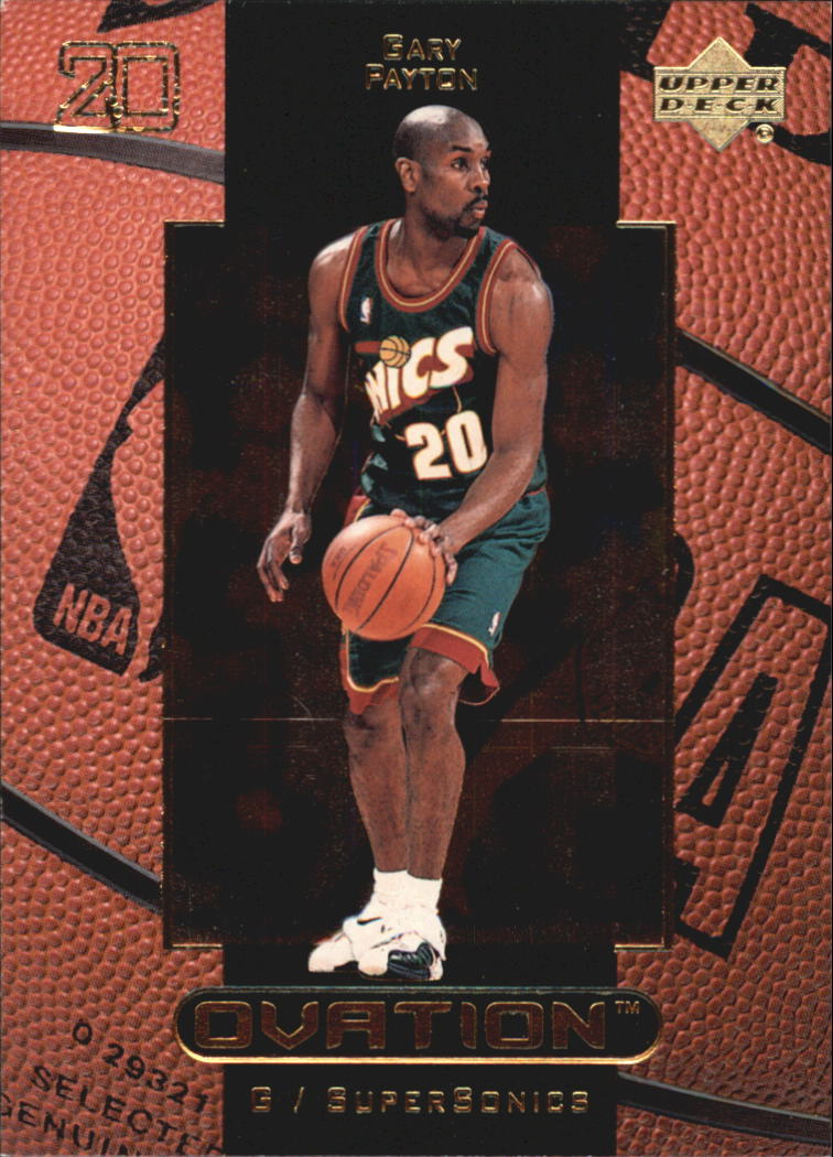 1999-00 Upper Deck Ovation #51 Gary Payton