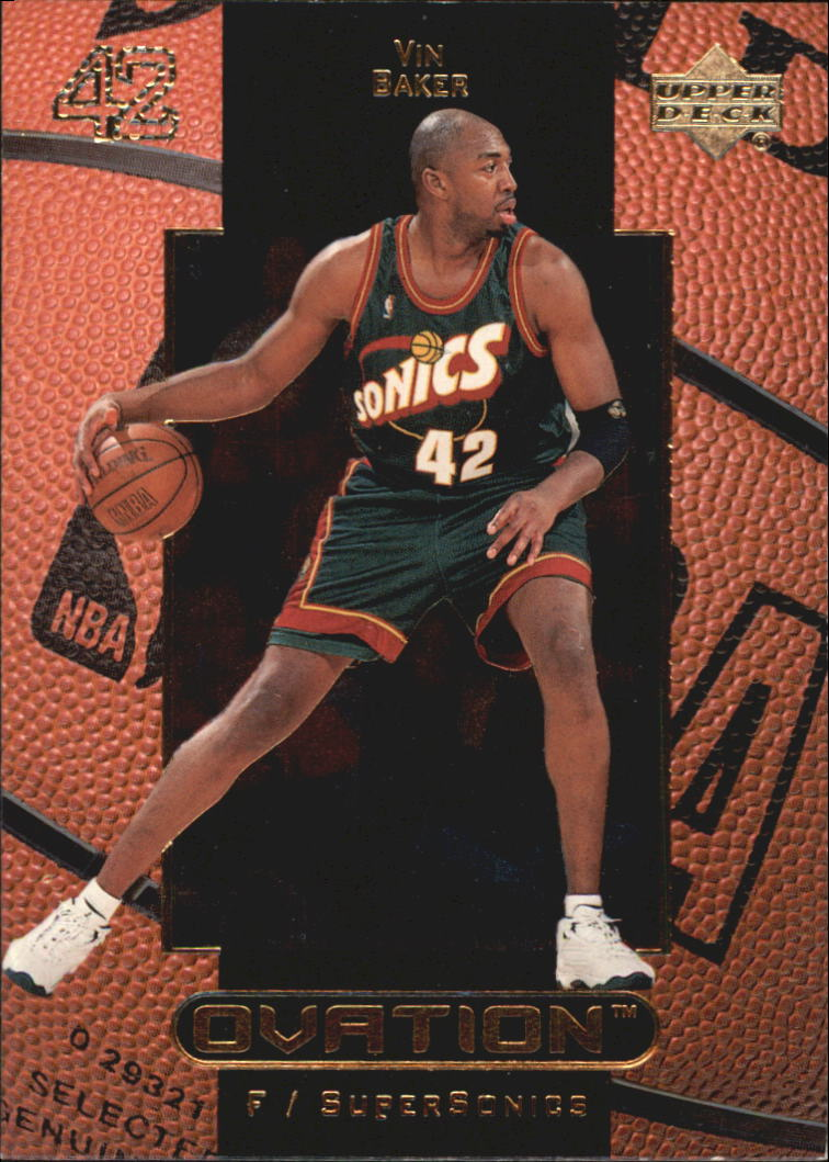 1999-00 Upper Deck Ovation #52 Vin Baker