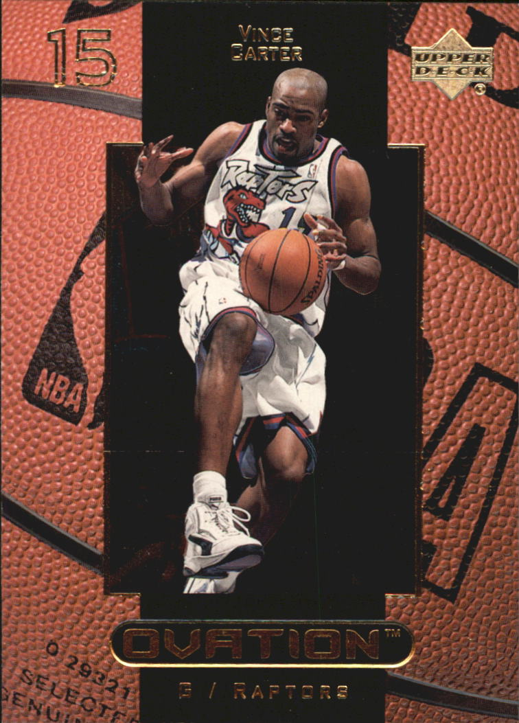 1999-00 Upper Deck Ovation #53 Vince Carter