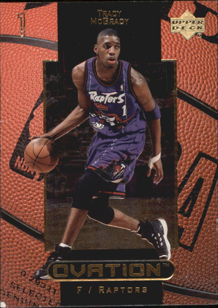 1999-00 Upper Deck Ovation #54 Tracy McGrady
