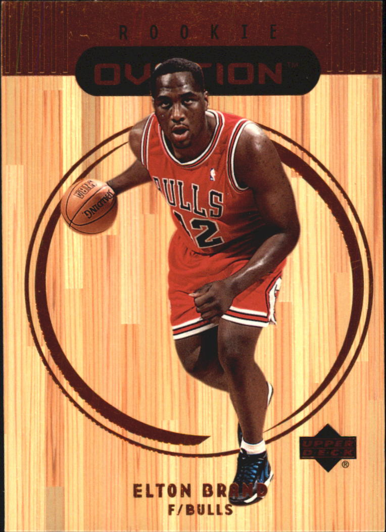 1999-00 Upper Deck Ovation #61 Elton Brand RC