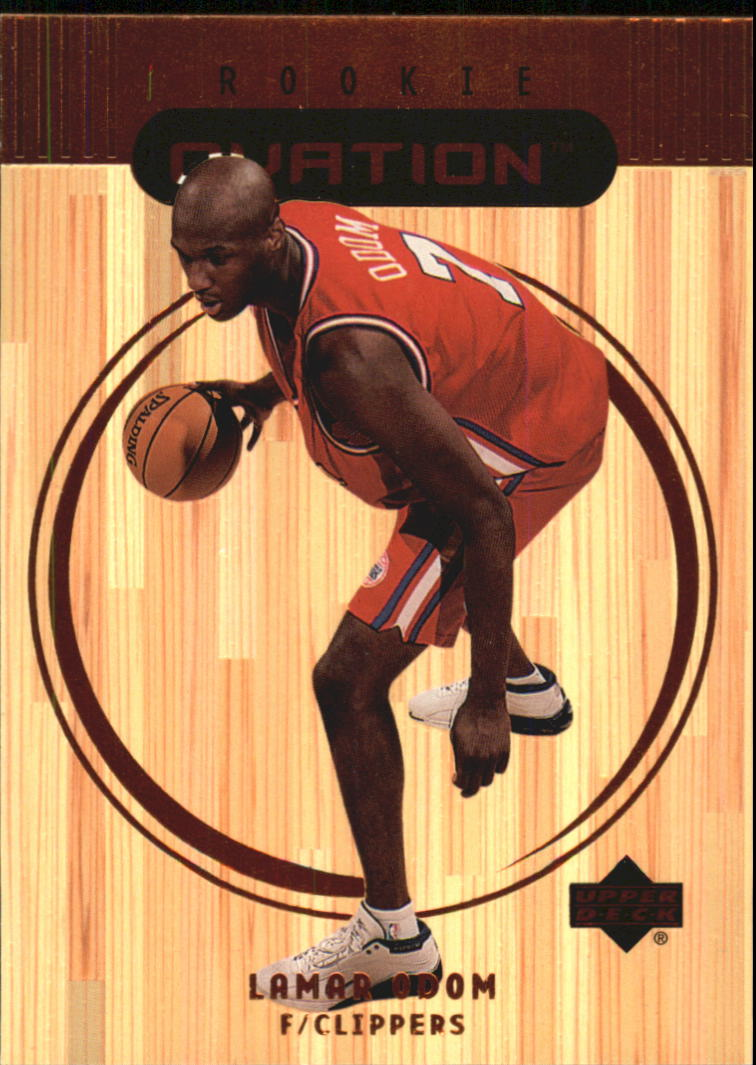 1999-00 Upper Deck Ovation #64 Lamar Odom RC