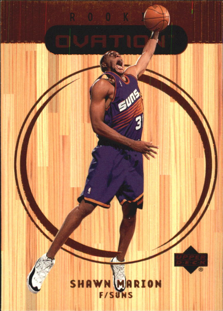 1999-00 Upper Deck Ovation #69 Shawn Marion RC