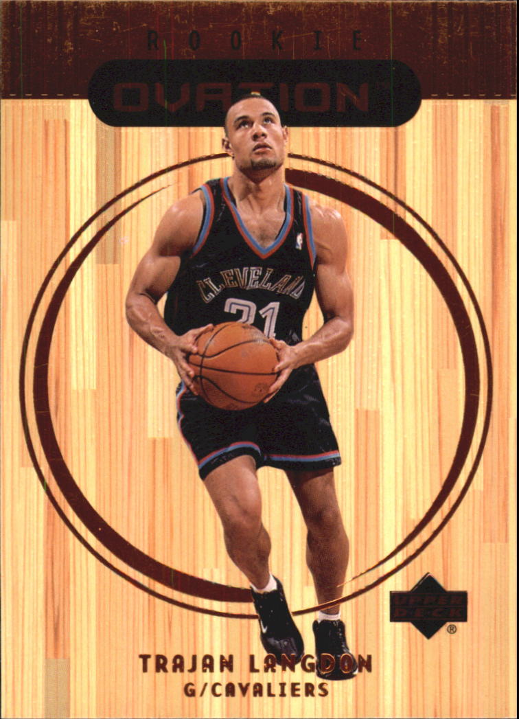 1999-00 Upper Deck Ovation #71 Trajan Langdon RC