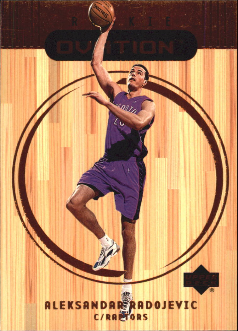 1999-00 Upper Deck Ovation #72 Aleksandar Radojevic RC