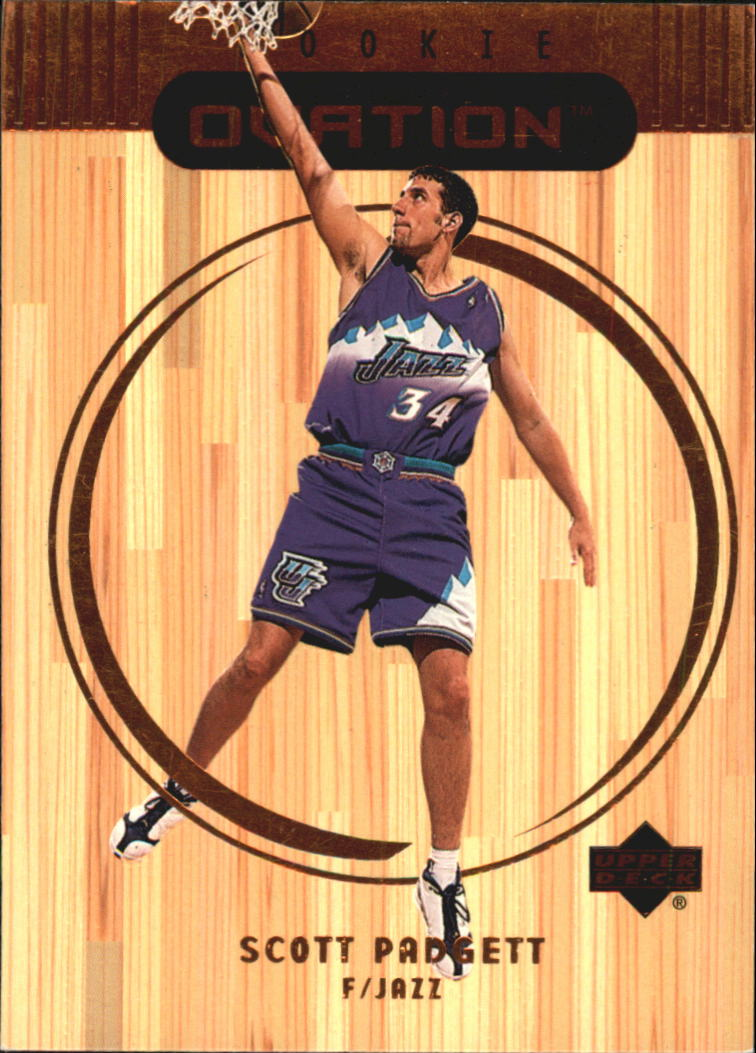 1999-00 Upper Deck Ovation #87 Scott Padgett RC