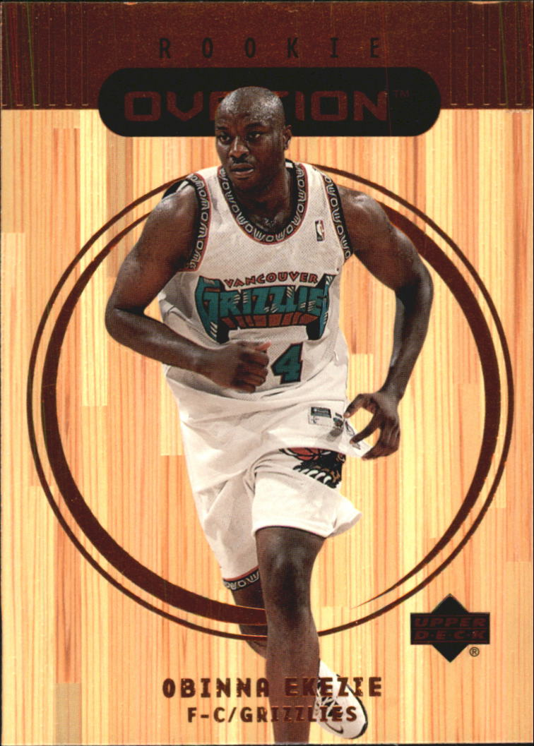 1999-00 Upper Deck Ovation #88 Obinna Ekezie RC