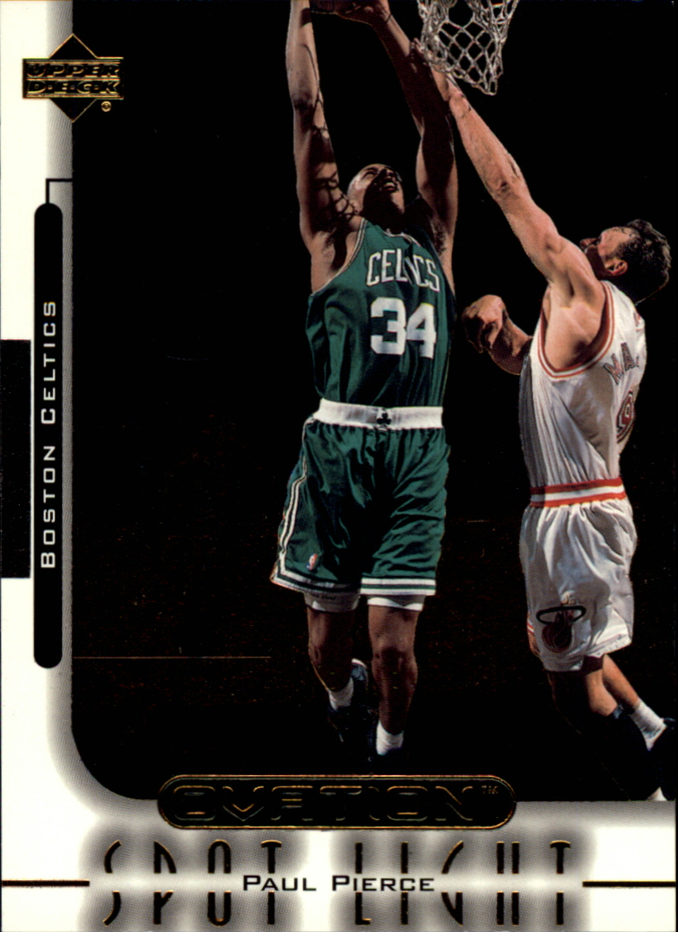 1999-00 Upper Deck Ovation Spotlight #OS8 Paul Pierce