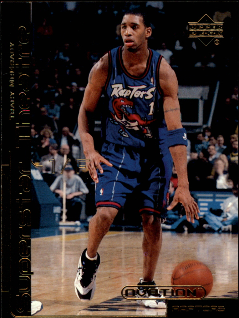 1999-00 Upper Deck Ovation Superstar Theatre #ST12 Tracy McGrady