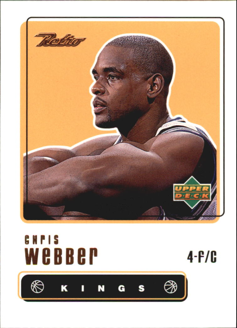1999-00 Upper Deck Retro #4 Chris Webber