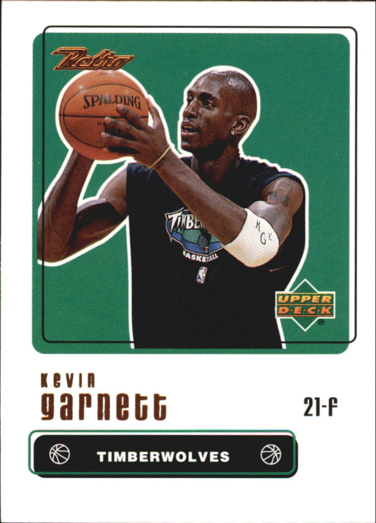 1999-00 Upper Deck Retro #6 Kevin Garnett