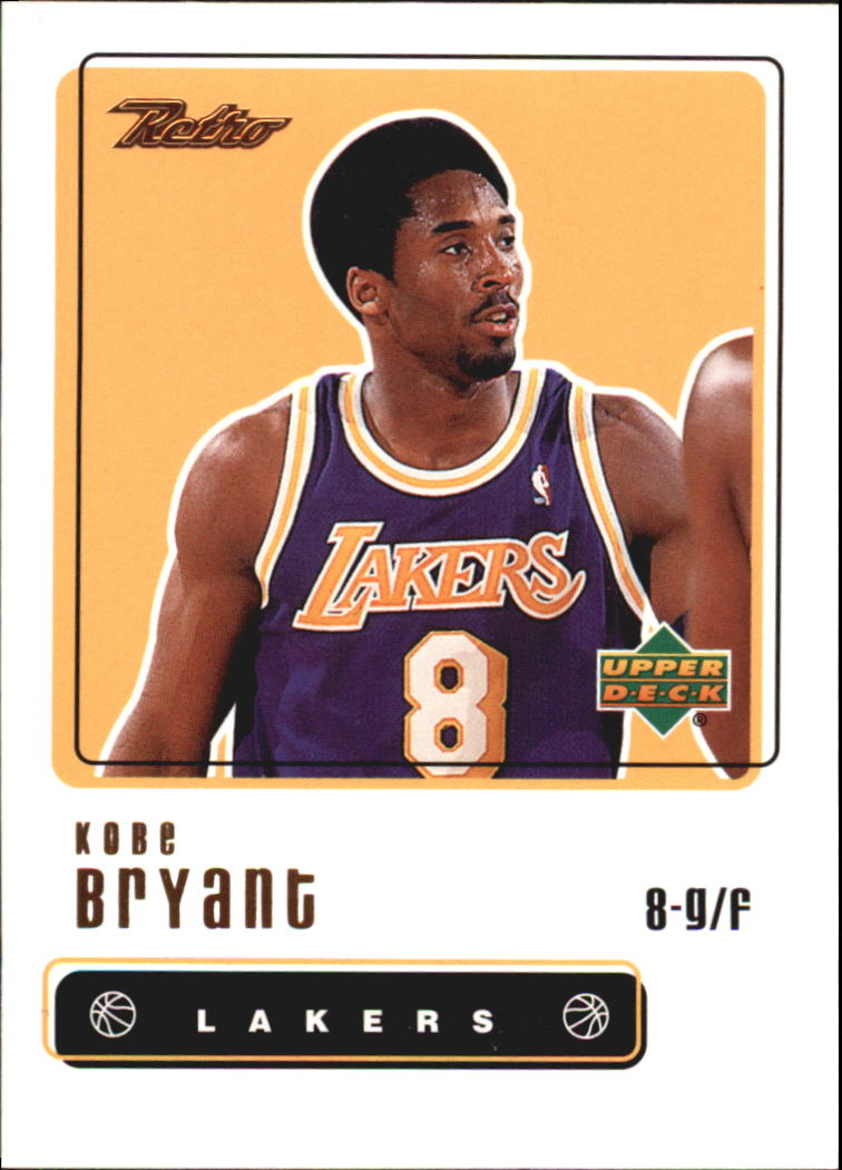 1999-00 Upper Deck Retro #8 Kobe Bryant