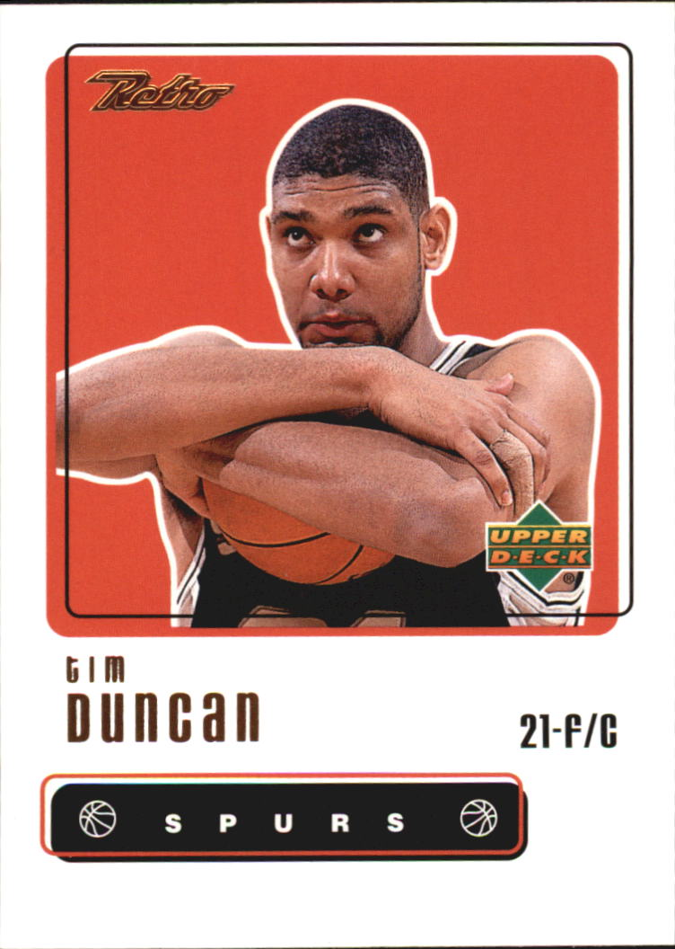1999-00 Upper Deck Retro #9 Tim Duncan