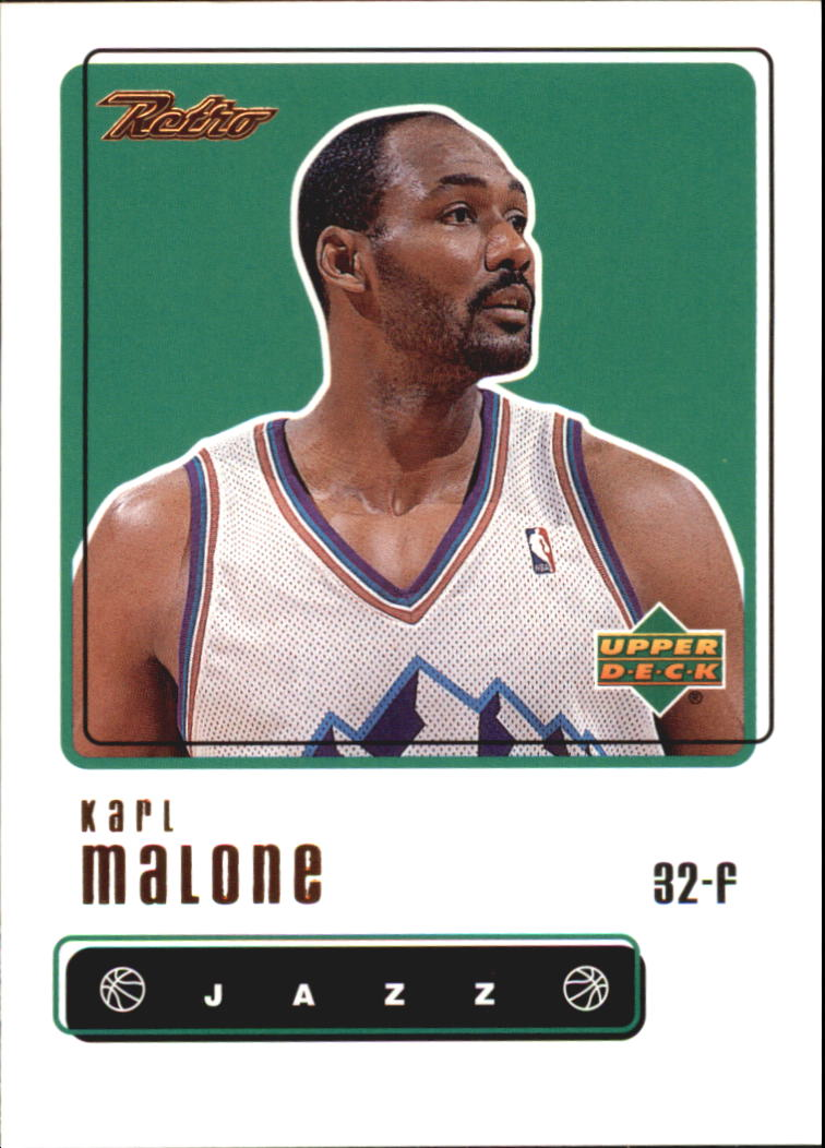 1999-00 Upper Deck Retro #10 Karl Malone