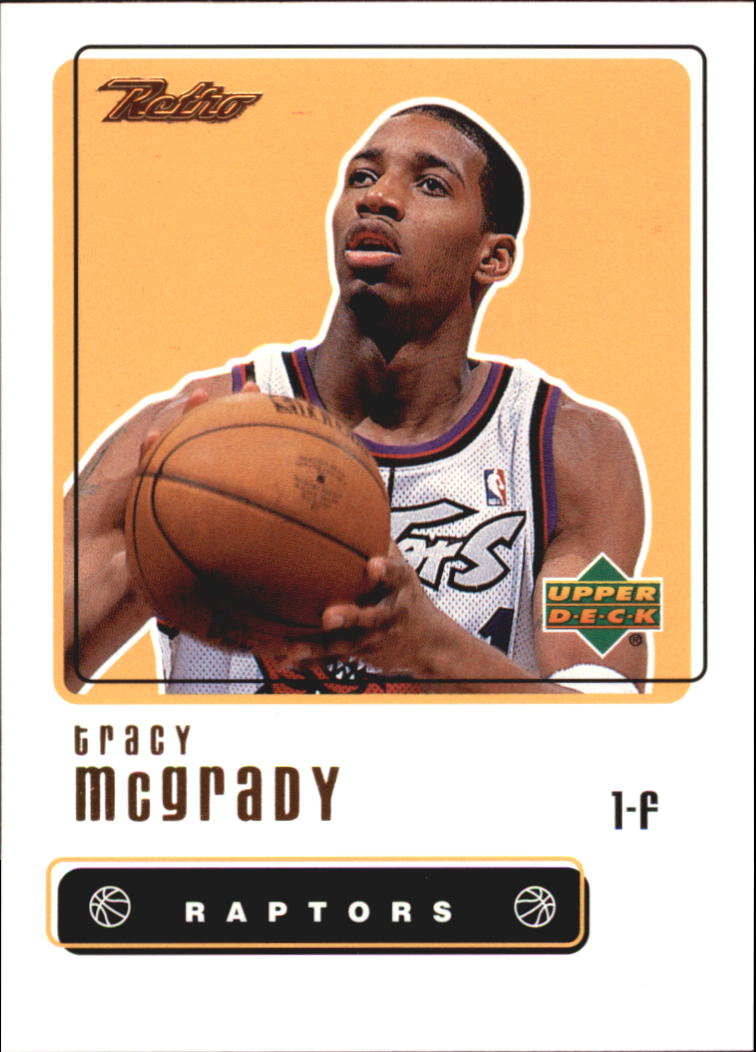 1999-00 Upper Deck Retro #24 Tracy McGrady